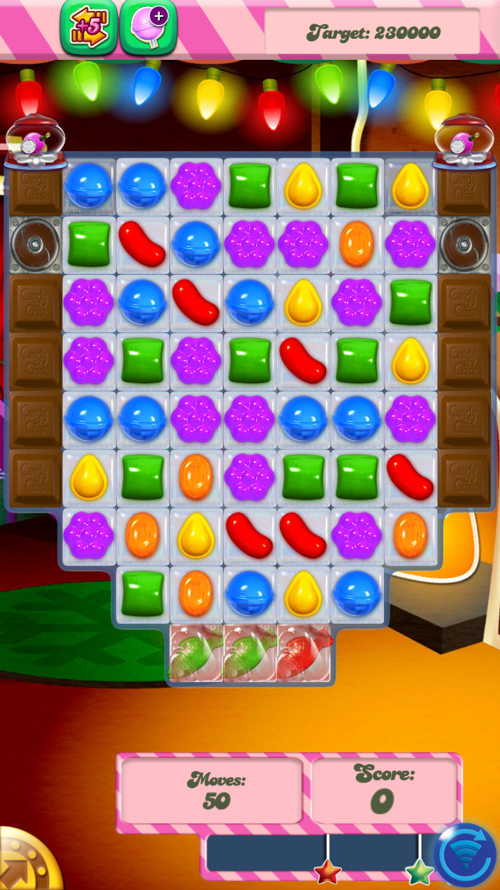 Candy crush saga hints tips level 275 mikey beck dot com for Candy crush fish