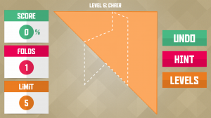 Paperama - Shizume - Level 6 - Chair (2)