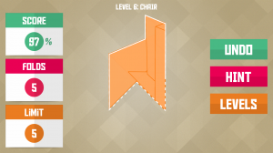 Paperama - Shizume - Level 6 - Chair (6)